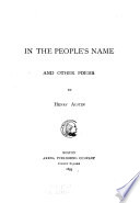 In the People's Name