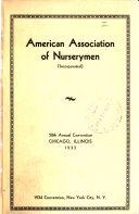 Proceedings  Annual Convention American Association of Nurserymen Book PDF