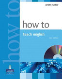Books - How to Teach English Book & DVD Pack New Edition | ISBN 9781405853095
