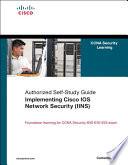Implementing Cisco IOS Network Security  IINS  Book