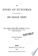 The Story of Nuncomar and the Impeachment of Sir Elijah Impey Book PDF