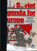 The Soviet Agenda for Europe