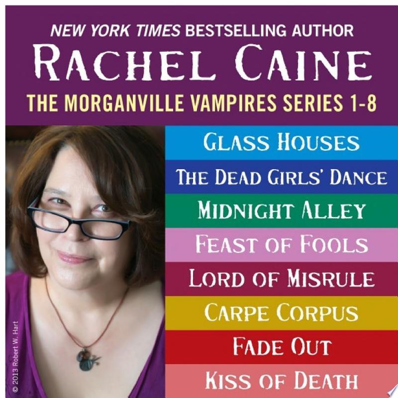 The Morganville Vampires: Books 1-8 banner backdrop