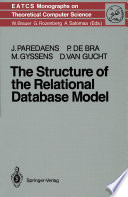 The Structure of the Relational Database Model Book