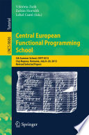 Central European Functional Programming School Book PDF