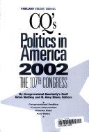 Politics In America 2002 Paperback Edition