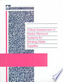 Critical Assessment Of Radon Removal Systems For Drinking Water Supplies Book PDF