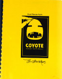 Five pieces from Coyote builds North America Book