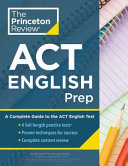 Princeton Review ACT English Prep