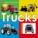 Slide and Find   Trucks Book