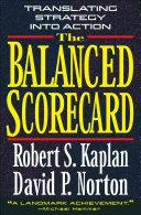 Pdf The Balanced Scorecard Telecharger