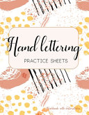 Hand Lettering Practice Sheets Workbook With Instructions