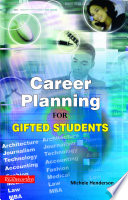Career Planning For Gifted Students Book