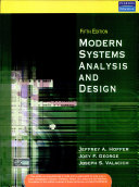 Modern Systems Analysis and Design, 5/e