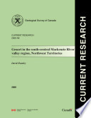 Geological Survey Of Canada Current Research Online No 2006 A8