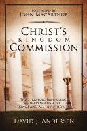 Christ s Kingdom Commission