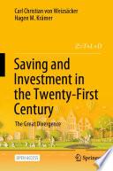 Öffnen Sie das Medium Saving and investment in the twenty-first century von Weizsäcker, Carl Christian von im Bibliothekskatalog