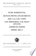 War Department Technical Manual