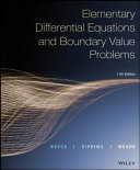 Elementary Differential Equations  Eleventh Edition Book