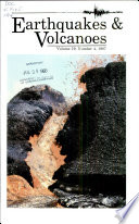 Earthquakes   Volcanoes Book
