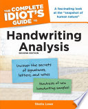 The Complete Idiot s Guide to Handwriting Analysis  2nd Edition