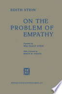 """""""On the Problem of Empathy"""" by Edith Stein"""