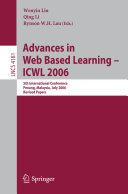 Advances in Web Based Learning    ICWL 2006