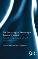 The Psychology of Becoming a Successful Worker (Open Access) [Pdf/ePub] eBook