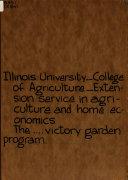 The Victory Garden Radio Program