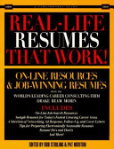 Real-life Resumés that Work!