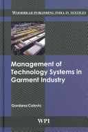 Management of Technology Systems in Garment Industry Book