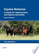 Equine Behavior E Book
