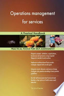 Operations Management for Services