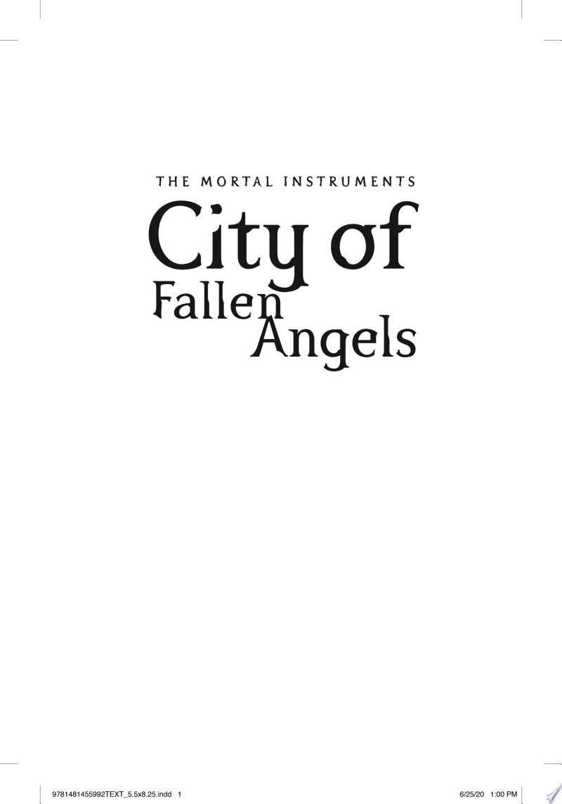 City of Fallen Angels image