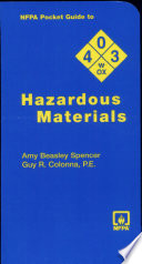 NFPA Pocket Guide to Hazardous Materials