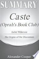 Summary of Caste  Oprah s Book Club