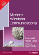 Modern Wireless Communication Book PDF
