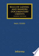 Bills of Lading and Bankers  Documentary Credits Book