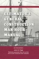 Estimator s General Construction Manhour Manual