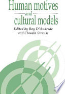 Human Motives And Cultural Models