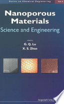 Nanoporous Materials  Science and Engineering Book