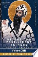 Nicene and Post nicene Fathers First Series  St chrysostom Book
