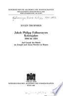 Jakob Philipp Fallmerayers Krisenjahre, 1846 bis 1854