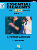 Essential Elements for Jazz Ensemble Book 2   Clarinet Book