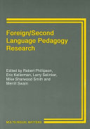 Foreign/second Language Pedagogy Research