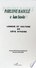 Parlons Baoulé