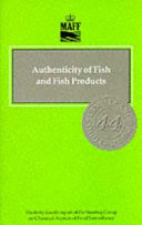 Authenticity Of Fish And Fish Products Book PDF