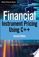 Financial Instrument Pricing Using C  Book PDF