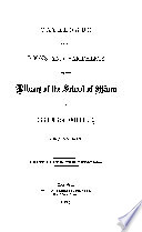 Catalogue Of The Books And Pamphlets In The Library Of The School Of Mines Of Columbia College