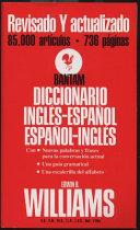 Bantam Diccionario Ingles Espanol Espanol Ingles